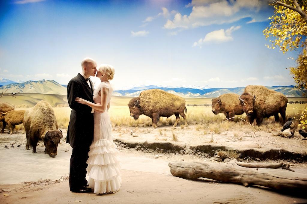 Museum Of Natural History Denver Wedding