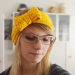 crochet bow headband 149