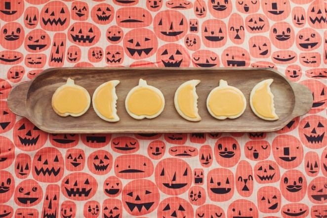 sugar pumpkin cookies 229