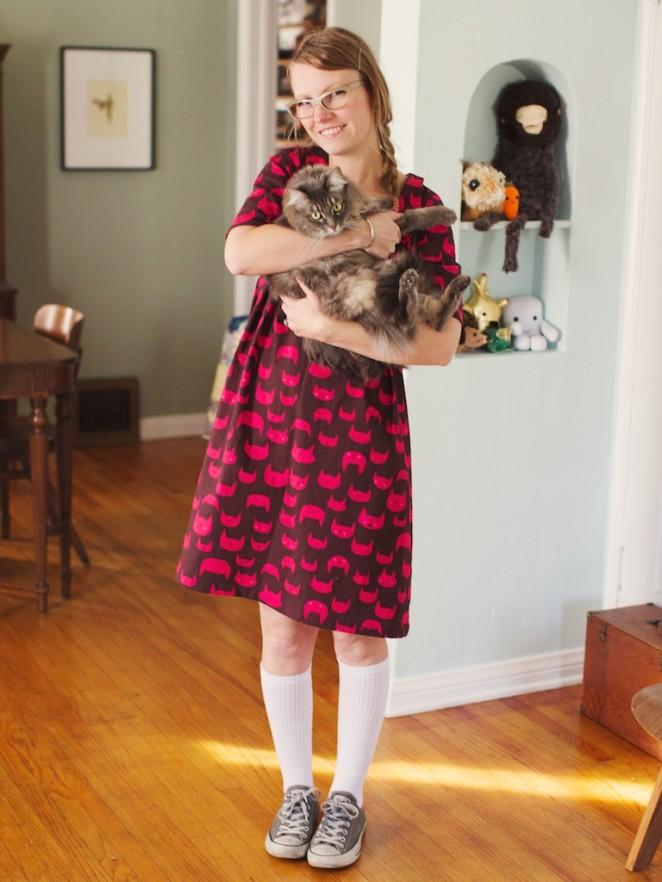 cat nap dress 1