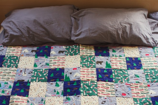 camping quilt 2